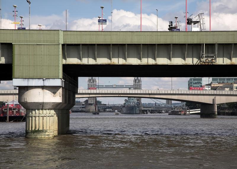 Three Bridges River Thames