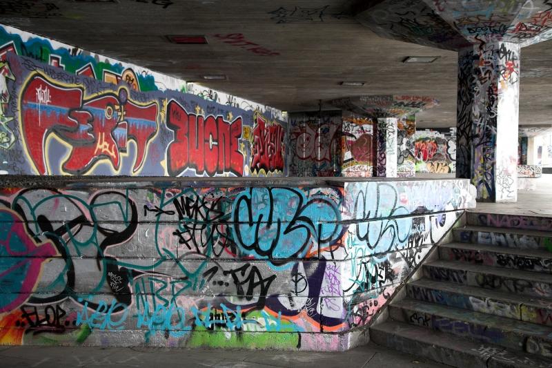 South Bank Graffiti 04