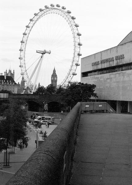 London Eye and Royal Festival Hall