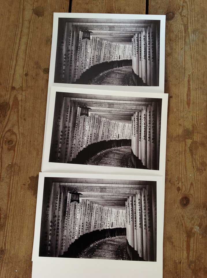 Test Prints for E17 Art Trail