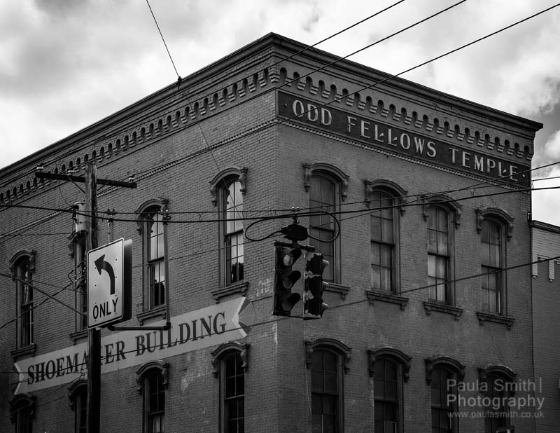 Odd Fellows Temple by Paula Smith