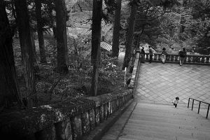 Little girl and the steps, Japan