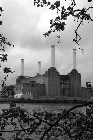 Battersea Power Station B&W