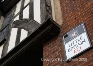 Little Britain Sign