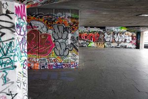 Southbank Graffiti 01
