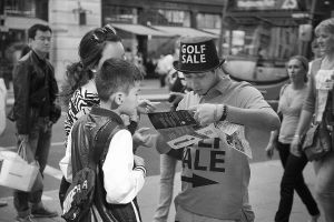 Golf sale man giving directions London