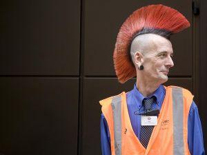 London Punk Underground worker
