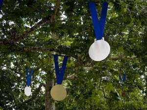 Gold Medals in the trees
