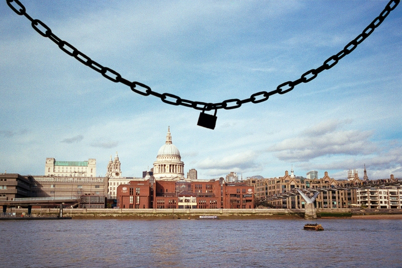 St Paul's and Love Lock
