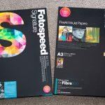 Fotospeed Fineart Inkjet Paper boxes