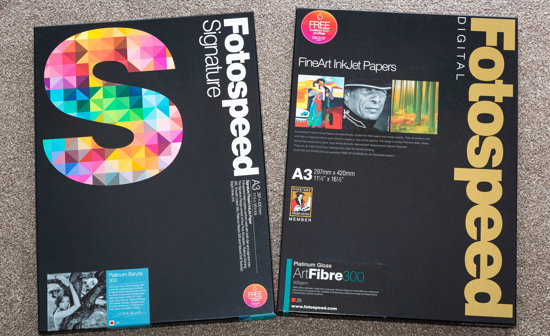 Fotospeed Fine Art Inkjet Paper Review