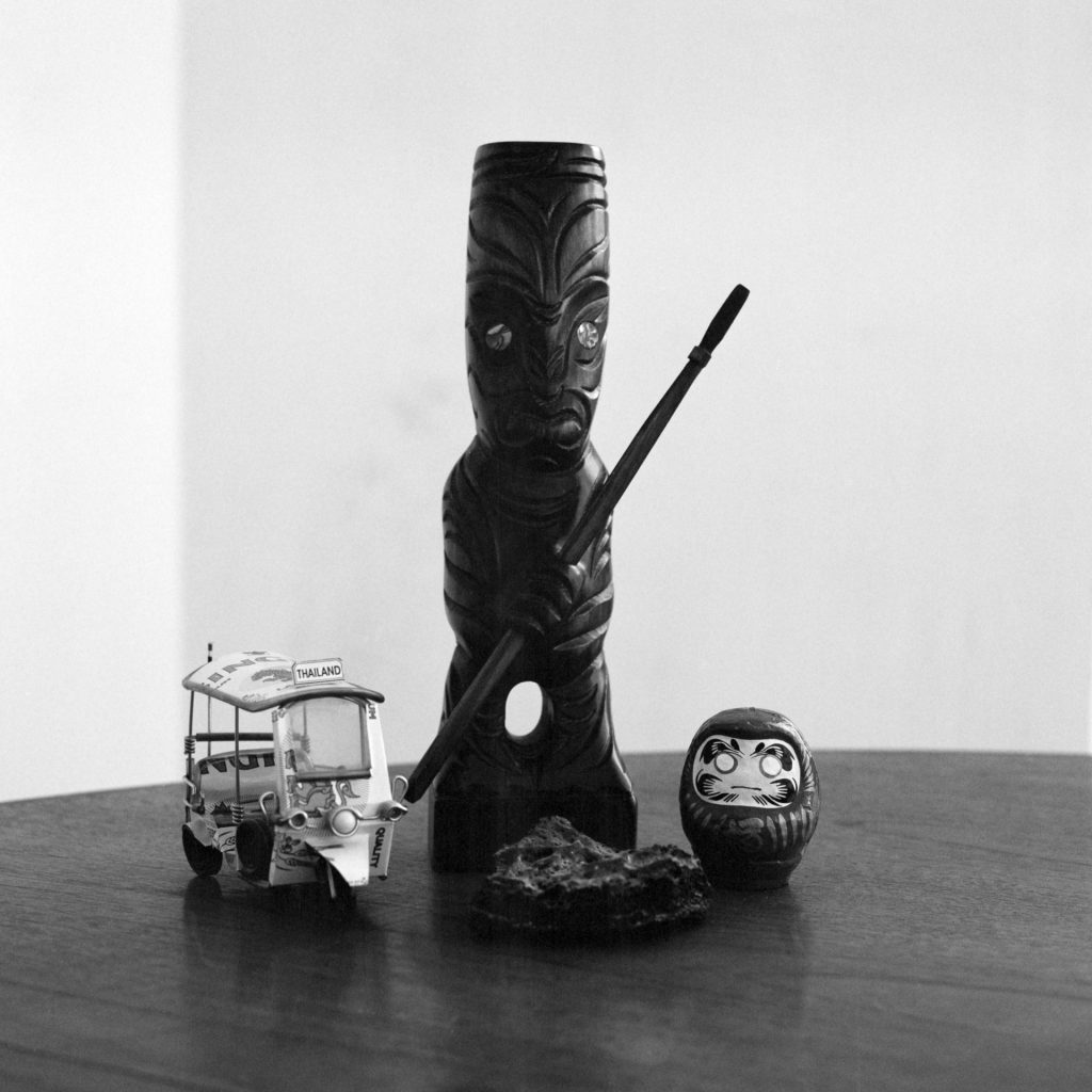 Still life taken with Bronica SQAi and 80mm lens using Ilford PanF+ rated at 800