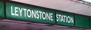 Leytonstone Station - Lomochrome Purple